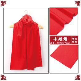 贵阳红围巾定制logo_聚会活动红围巾